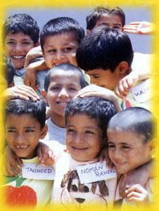 bambini  della missione salesiana di Quetta