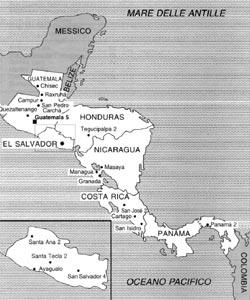 cartina del salvador